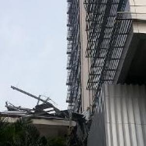 Investigasi Dihentikan, Fasad Blok G Balaikota Rusak Karena Faktor Alam
