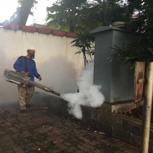 Balaikota Tiba-tiba di-fogging karena Ahok DBD