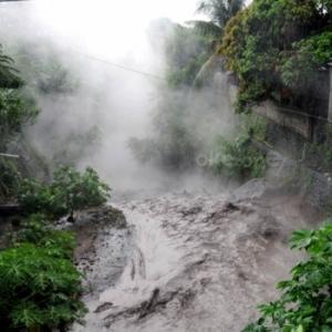 Waspada, Banjir Lahar Dingin Pasca Erupsi Gamalama