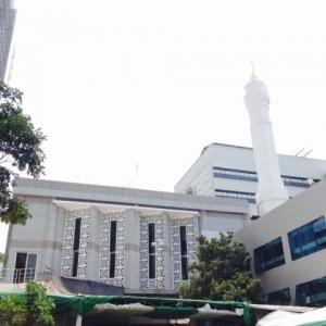 Pembangunan Masjid Di Balaikota Telan Rp 18,8 Miliar