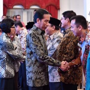 Jokowi: Sekarang Pegawai Kementerian Pertanian Cuma Duduk Manis Urus SPJ