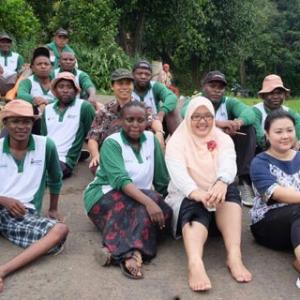 Pemerintah RI Latih Petani Dari 11 Negara Afrika
