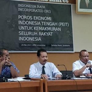 Pembangunan Ekonomi Indonesia Tengah Hanya Butuh Waktu Tiga Tahun