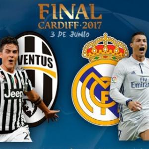 Final Liga Champions Jalan Setengah Babak, Skor Real Madrid-Juventus Imbang