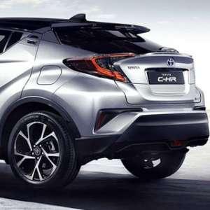 Toyota All New C-HR, Desainnya Modern