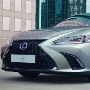 Lexus ES, Gagah & Sporty