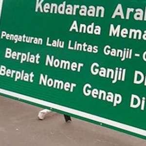 Ganjil Genap Tak Berlaku Lagi di Jalan Metro Pondok Indah