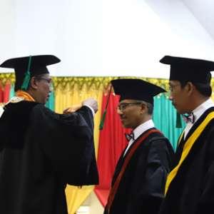 Rektor Unsyiah Apresiasi Kepakaran Tiga Gurubesar Yang Baru Dikukuhkan