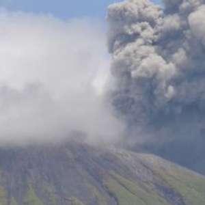 Gunung Gamalama Erupsi, PVMBG: Status Waspada Belum Perlu Dinaikkan
