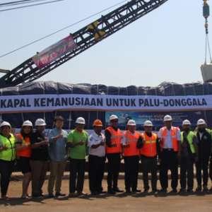 Kapal Kemanusiaan Bawa 1.000 Ton Bantuan Untuk Palu Dan Donggala