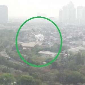 Gedung DPR Tak Terlihat Dari Lapangan Tembak