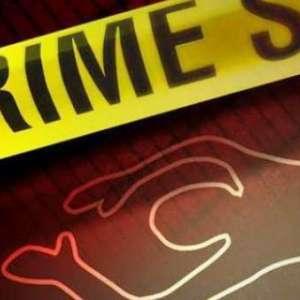 Rolling Door Jadi Depan TKP Pembunuhan Satu Keluarga