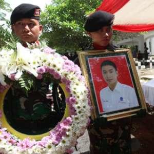 Anthonius, Petugas ATC Dimakamkan Di Taman Makam Pahlawan