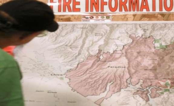 Peta Penyebaran Api