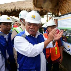Bendungan Way Sekampung Siap Mendukung Lampung Jadi Lumbung Pangan Nasional