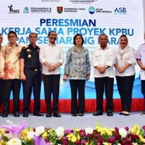 420 Ribu Warga Semarang Barat Akan Nikmati Layanan Air Bersih Perpipaan