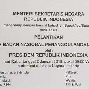 Kunjungi Lokasi Bencana, Presiden Tunda Pelantikan Kepala BNPB