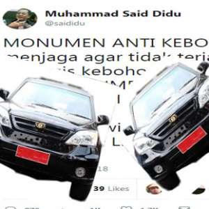Hindari Pencitraan Berbasis Kebohongan, Jadikan Mobil Esemka Monumen Anti Kebohongan