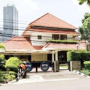 Rumah Dinas Wagub DKI Tetap Terlihat Bersih