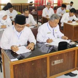 Isi Soal Ujian, Calon Petugas Haji Rame-rame Angkat Kaki