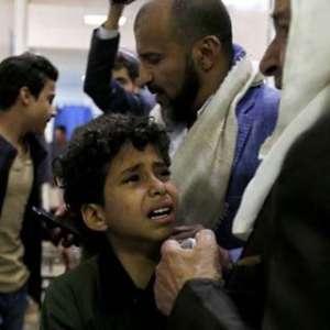 Serangan Udara Saudi Hantam Pemukiman dan Sekolahan di Yaman, 11 Warga Sipil Tewas