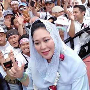 Titiek Soeharto: Aroma Kemenangan Prabowo Sudah Tercium Kuat