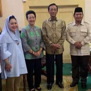 Bertemu Sultan HB X, Prabowo Nyatakan Siap Jaga NKRI dan Pancasila