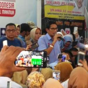 Sandiaga Dukung Pembentukan TPF Kecurangan Pemilu 2019