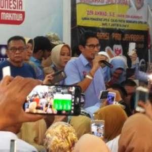 Sandiaga Jawab Omongan Mahfud MD Yang Sebut 02 Menang di Provinsi Garis Keras