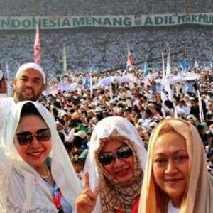 Tiga Putri Pak Harto Genapkan Tokoh Yang Hadiri Kampanye Akbar Prabowo-Sandi