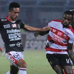 Prediksi Madura United Vs Bali United, Catatan Mengerikan Tim Tamu