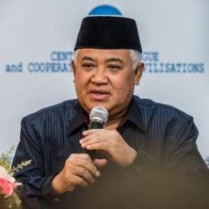 Din Syamsuddin Heran Pemicu Kerusuhan Papua Belum Ditindak