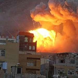 Serangan Koalisi Saudi Ke Kamp Tahanan Houthi Tewaskan 100 Orang