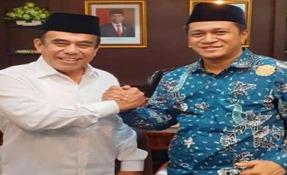 Sekretaris Halal Institute Temui Menag Fachrul Razi
