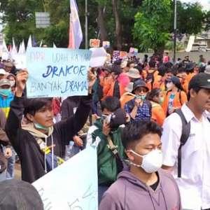 Demo Tidak Boleh Jadi Alasan Desak Jokowi Keluarkan Perppu KPK