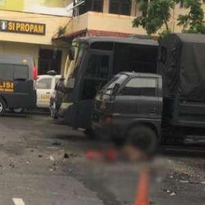 Ini Identitas Terduga Pelaku Bom Bunuh Diri Di Polrestabes Medan