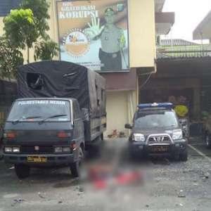 Kasi Propam Polrestabes Medan Ikut Jadi Korban Bom Bunuh Diri