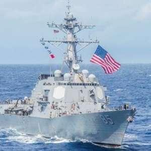 Kapal Perang AS Sita Kiriman Rudal Iran Untuk Houthi