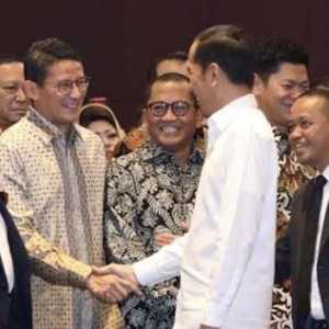 Jokowi Sebut Sandiaga Presiden 2024, Pengamat: Kalau Pidato Di Tempat Lain Kan Beda Lagi