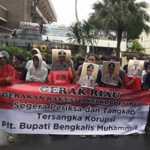 Kalau Polda Riau Mandul, Bareskrim Mabes Harus Ambil Alih Kasus Plt Bupati Bengkalis