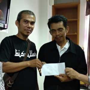 JMSI Riau Bantu Anak Wartawan Senior Yang Derita Pembengkakan Kelenjar Getah Bening