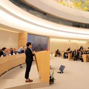 Di Dewan HAM, Menlu Retno Bahas Corona Hingga Rencana Perdamaian Ala Trump