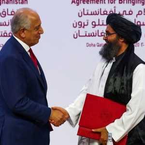 Implementasi Perjanjian Damai AS, Afganistan Segera Bebaskan 1.500 Tahanan Taliban
