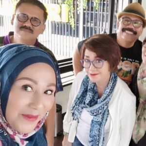 Ini Cerita Silaturahmi Artis Film Legend Indonesia