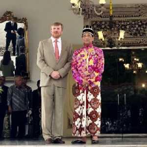 Sri Sultan HB X Terima Kunjungan Raja Dan Ratu Belanda, 15 Menit Pertemuan Tertutup