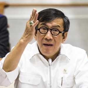 Didesak Garap RKUHP, Yasonna Malah Minta DPR Kirim Surat Ke Jokowi
