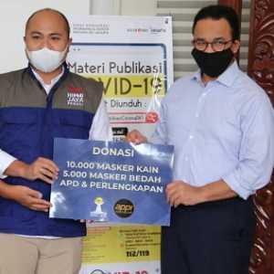 Dukung Lawan Covid-19, HIPMI Jaya Dan APPI Salurkan Bantuan Kepada Pemprov DKI