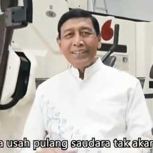 Wiranto Rilis Video Klip