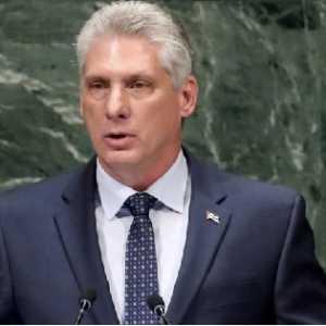 Soal Covid-19, Presiden Kuba Sentil Anggaran Militer AS Dan Ingatkan Pesan Fidel Castro