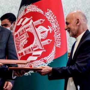 Menuju Afganistan Yang Damai, Presiden Ashraf Ghani Dan Abdullah Abdullah Sepakati Perjanjian Pembagian Kekuasaan